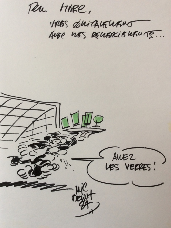 La jungle en folie by Mic Delinx - Sketch
