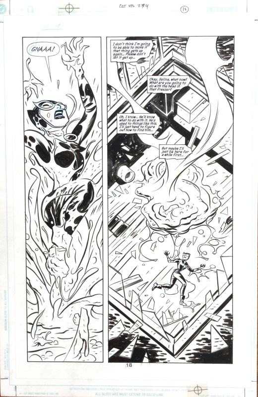 Catwoman #4 Page 18 by Darwyn Cooke, Mike Allred, Ed Brubaker - Comic Strip