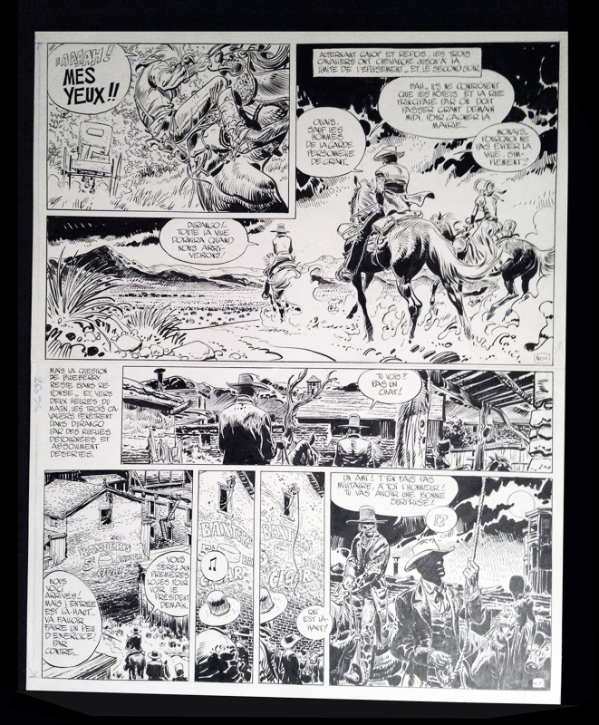 Giraud, Blueberry by Jean Giraud, Jean Michel Charlier - Comic Strip