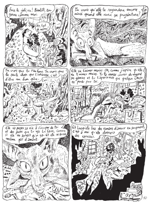 Le Chat du Rabbin, T6 by Joann Sfar - Comic Strip