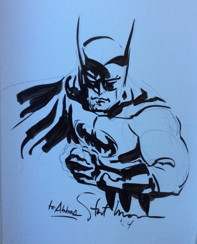 Batman by Stuart Immonen - Sketch