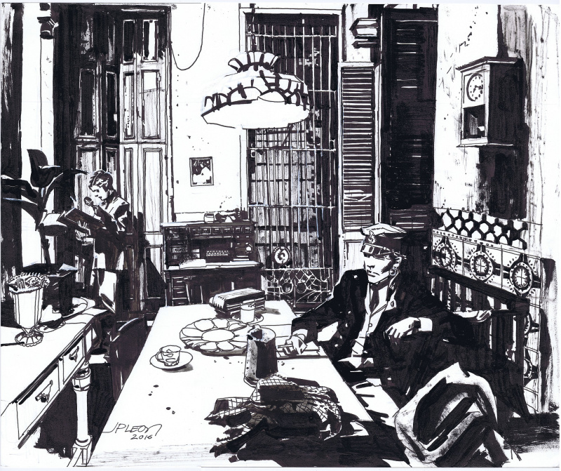 Corto Maltese in Havana by John Paul Leon by John Paul Leon - Illustration