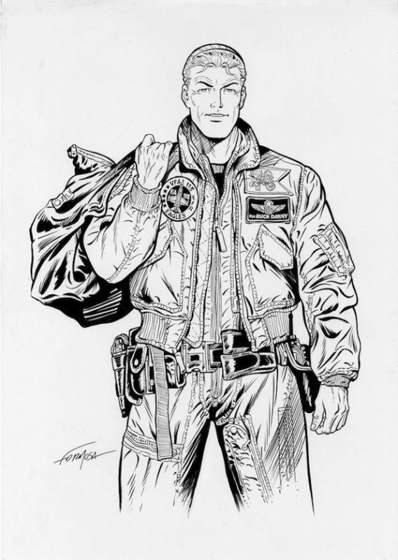 Buck Danny by Gil Formosa - Illustration