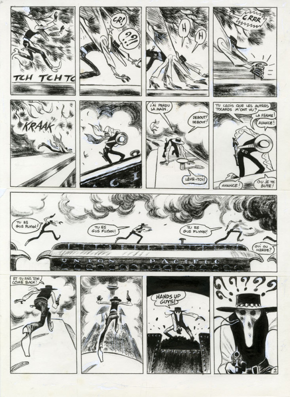 2016 - GUS : Happy Clem by Christophe Blain - Comic Strip