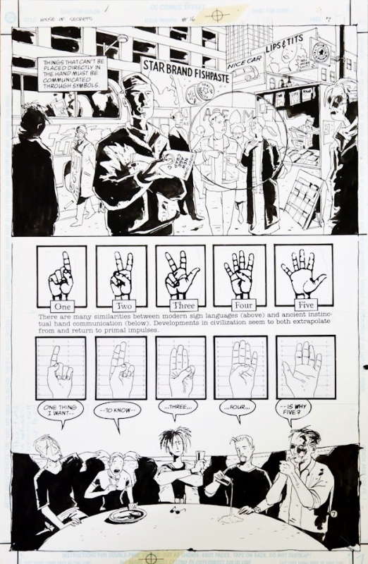 For sale - House Of Secrets volume 16 page 7 by Dean Ormston, D'Israeli - Comic Strip