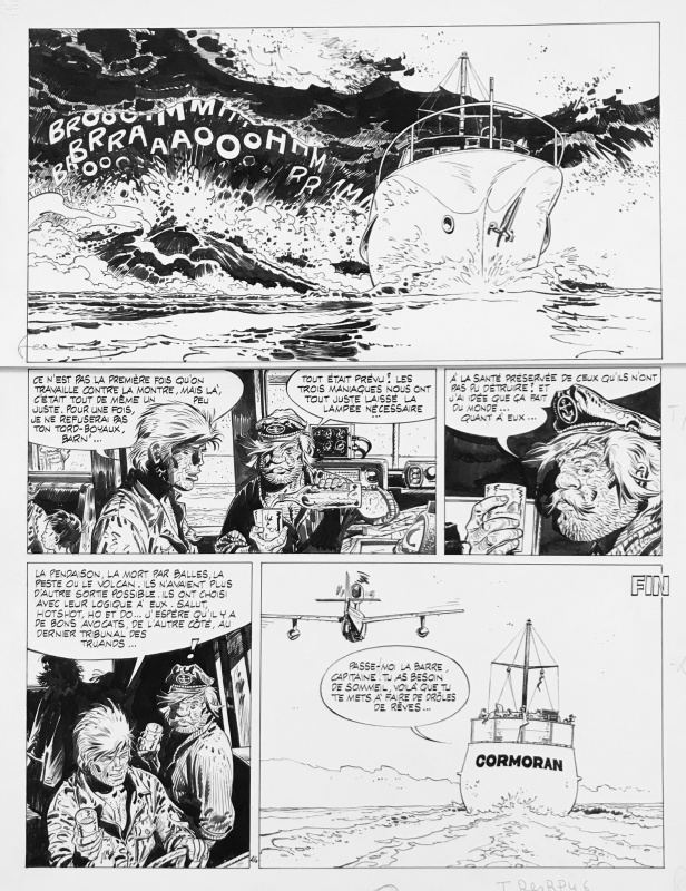 Bernard Prince - Fin T10 by Hermann, Greg - Comic Strip