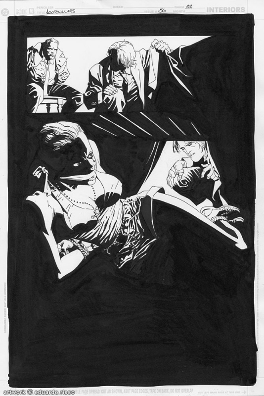 100 Bullets Issue 56 Page 22 by Eduardo Risso - Comic Strip