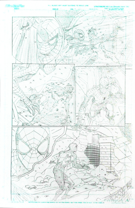 The friendly neighborhood Spider-Man n. 4 p. 22 by Mike Wieringo - Comic Strip