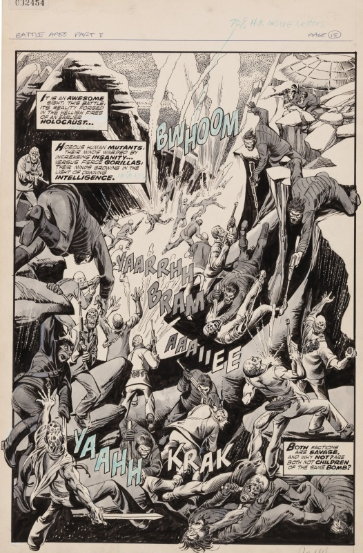 Planet of the Apes - Assault on Paradise #26 P15 by Dino Castrillo, Doug Moench - Comic Strip