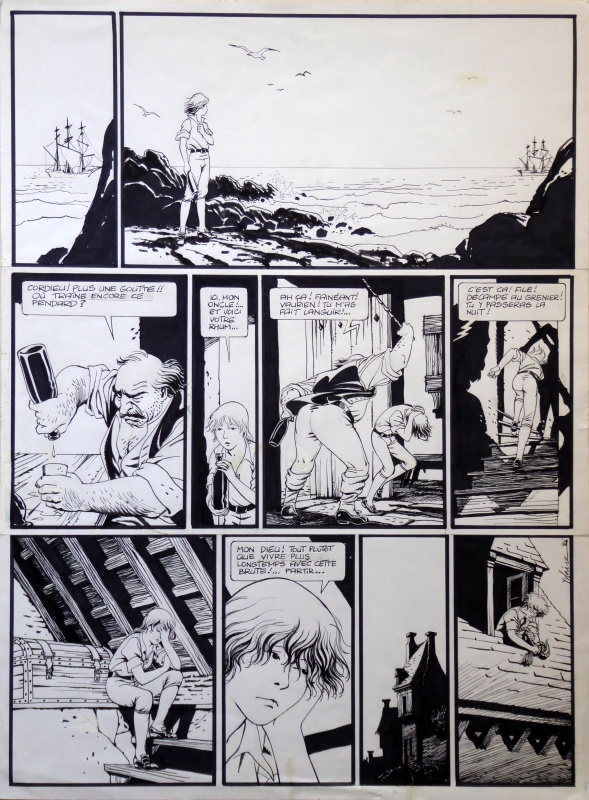 Hommage à Paul Cuvelier by Yslaire, Paul Cuvelier - Comic Strip