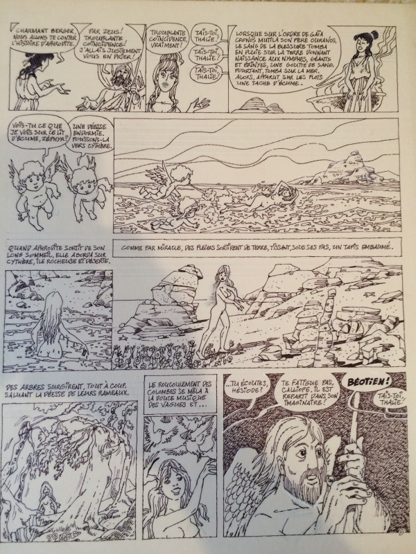Page 8 Hésiode ou la création du monde by Georges Grammat - Comic Strip