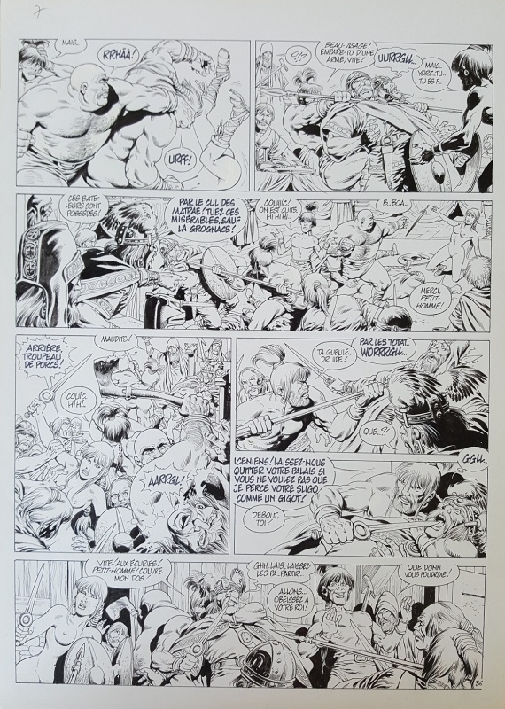 Vae Victis Tome 7 Planche 36 by Jean-Yves Mitton - Comic Strip
