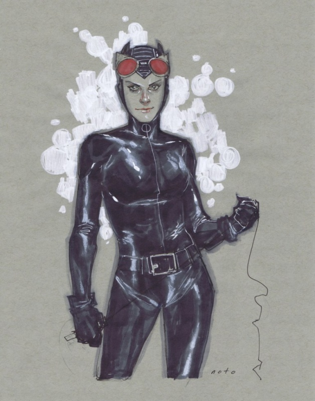 Catwoman par Noto by Phil Noto - Illustration