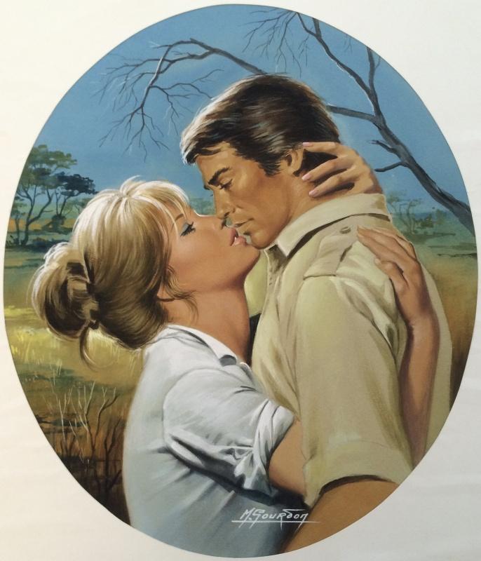 0fe50030d86 Le Safari de l Amour par Michel Gourdon - Couverture originale