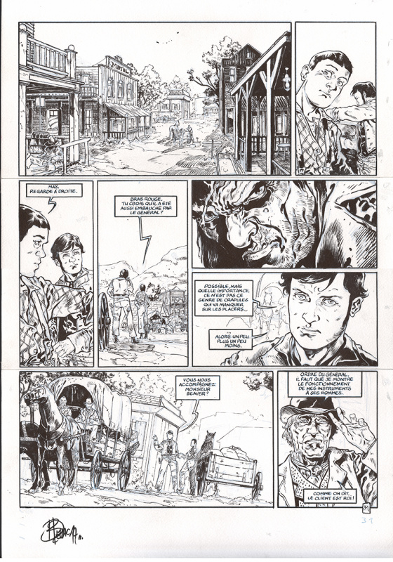 Sonora planche 31 by Benoit Dellac - Comic Strip
