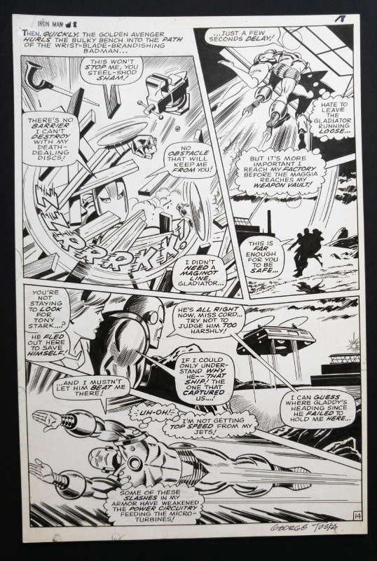 Iron MAN by George Tuska, Johnny Craig - Comic Strip