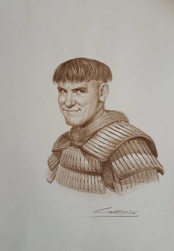 Odon de Bayeux - Les voies du seigneur par Jaime Caldéron - Illustration