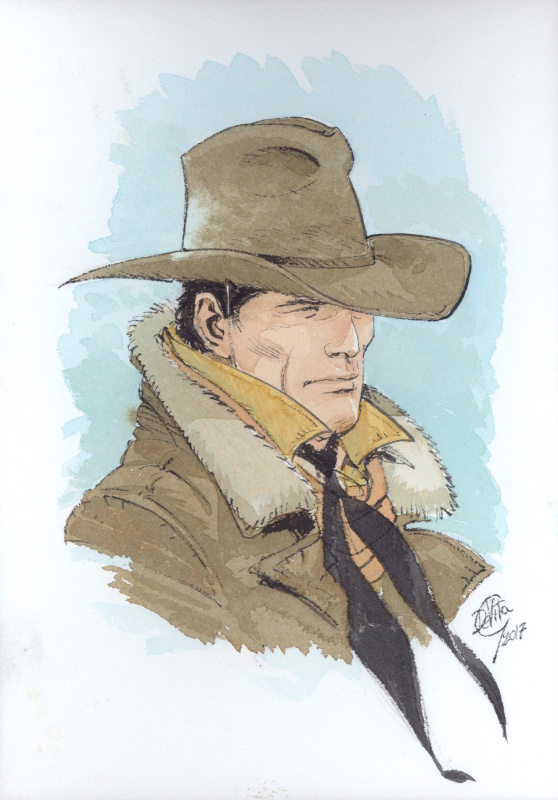 Tex portrait #965 by Giulio De Vita - Illustration