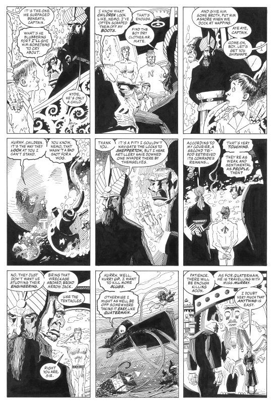 Ligue des gentlemen extraordinaires, Volume 2 Issue 4 page 7 by Alan Moore, Kevin O'Neill - Comic Strip