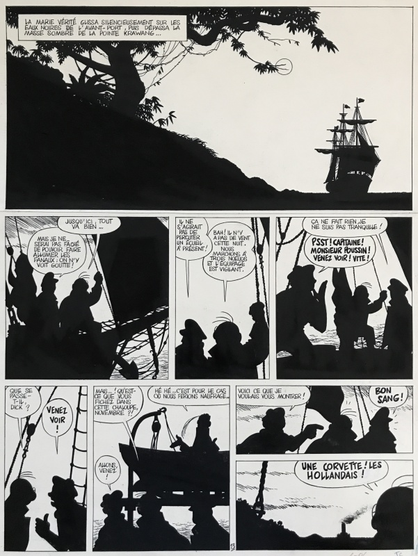 1990 - Theodore Poussin : Secrets by Frank Le Gall, Dominique Thomas - Comic Strip