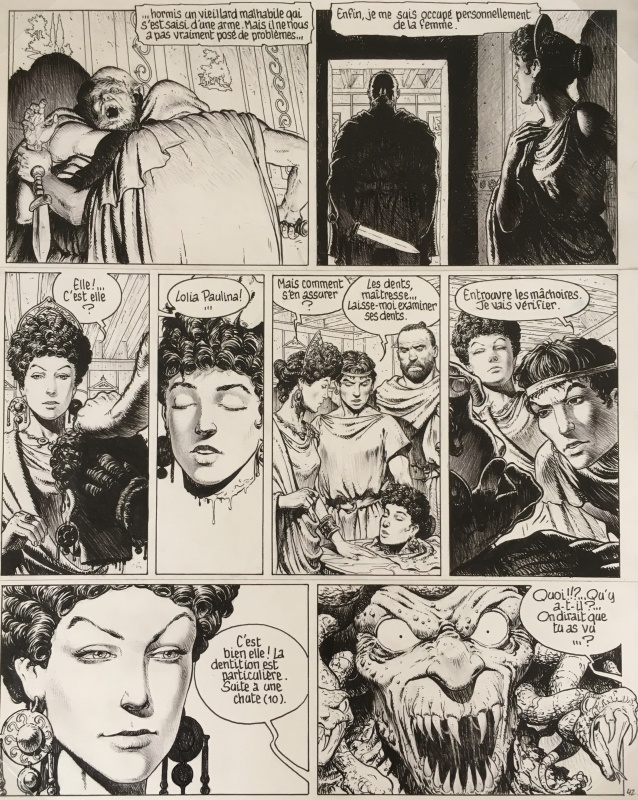 Murena p46 T1 by Philippe Delaby, Jean Dufaux - Comic Strip