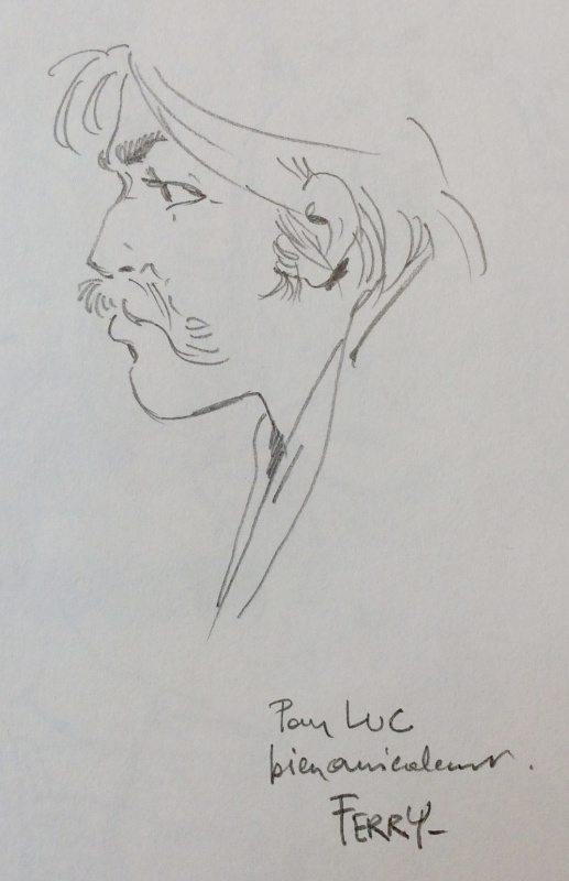 Ian Kalédine by Ferry - Sketch