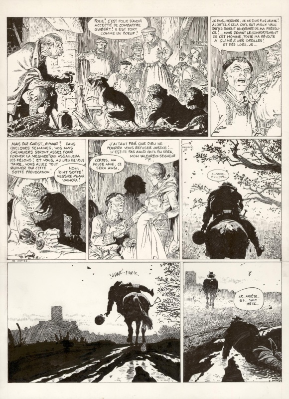 Les Tours de Bois-Maury - Olivier by Hermann - Comic Strip