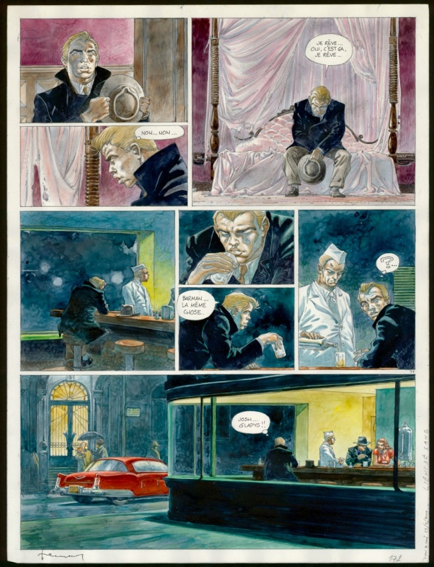 2000 - Hermann - Liens de sang - Planche 37 by Hermann, Yves H. - Comic Strip