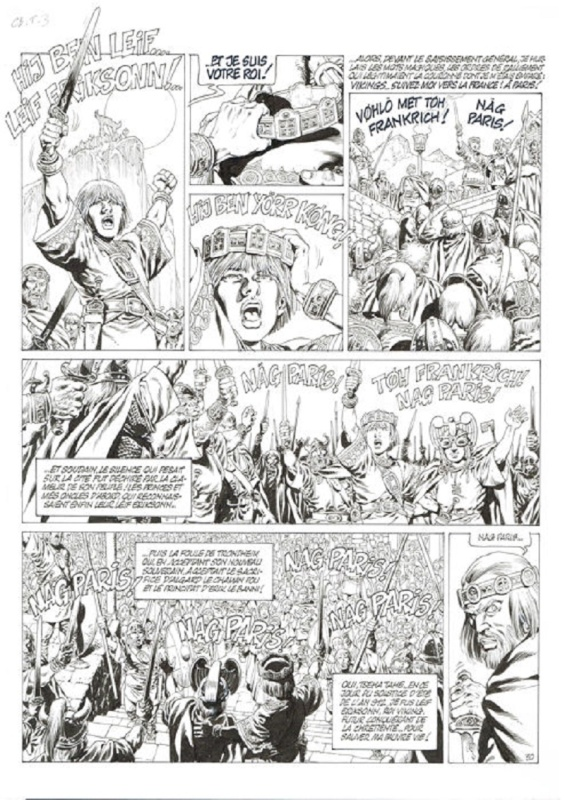 Chroniques Barbares T3 by Jean-Yves Mitton - Comic Strip