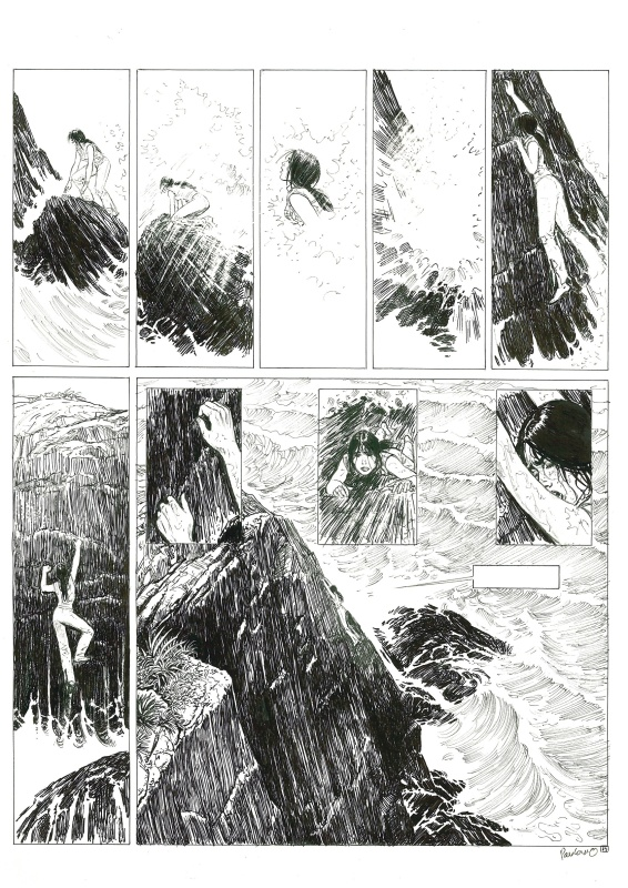 El Nino #5 pg19 by Boro Pavlovic, Christian Perrissin - Comic Strip