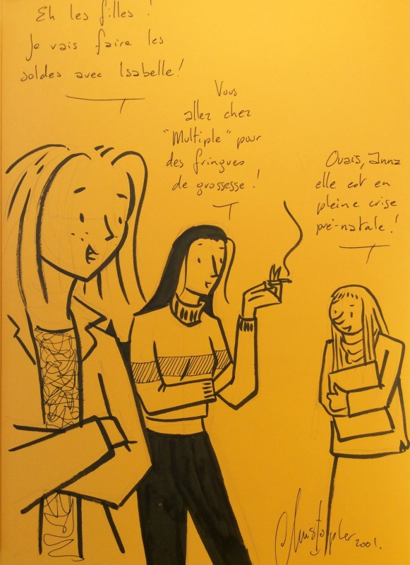 Les filles by Christopher - Sketch