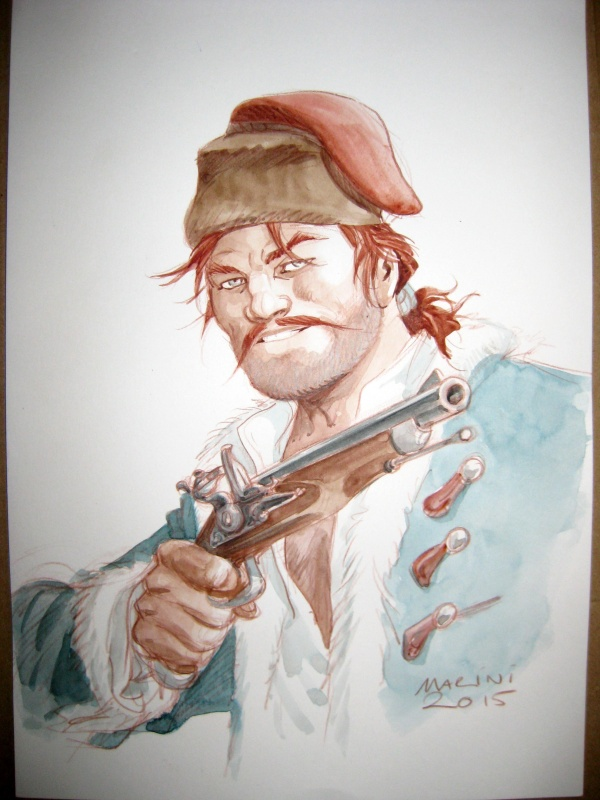 Le SCORPION  : Aristote Weindorf / Le Hussard by Enrico Marini - Illustration