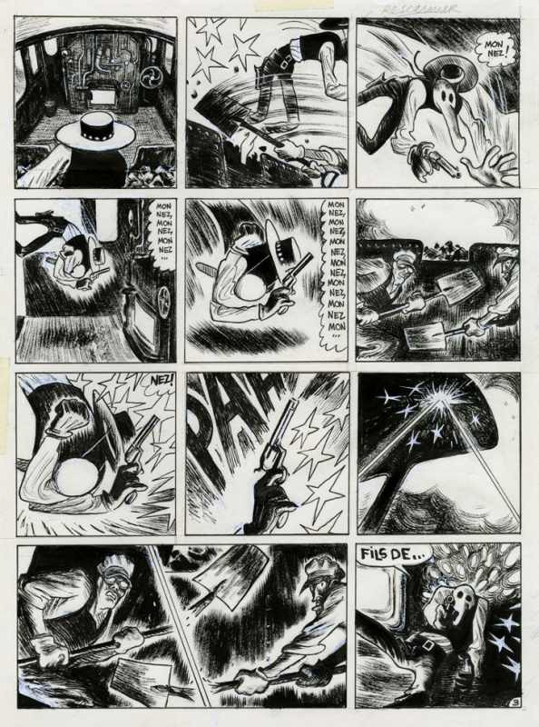 Blain, Gus, Clem by Christophe Blain - Comic Strip