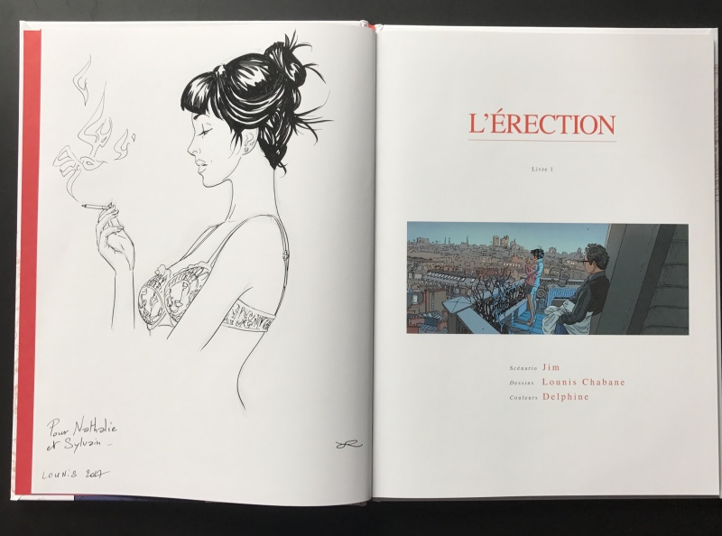 L érection - livre 1 by Lounis Chabane - Sketch