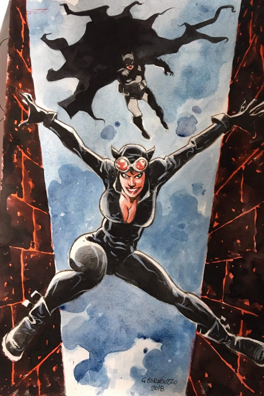 Giancarlo Caracuzzo Catwoman by Giancarlo Caracuzzo - Illustration