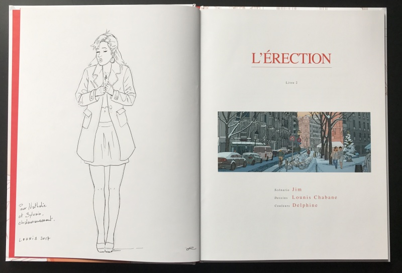 L érection - livre 2 by Lounis Chabane - Sketch
