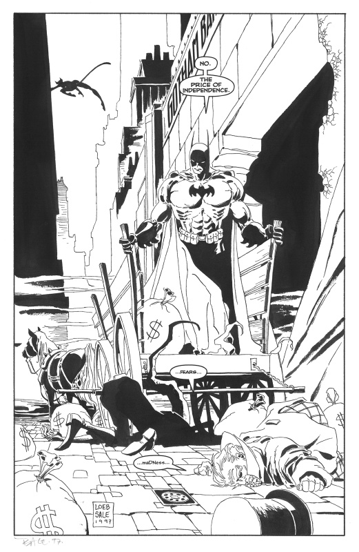 Batman Long Halloween Issue 10 Page 30 by Tim Sale, Jeph Loeb - Comic Strip