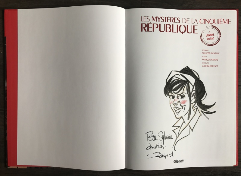 Les Mysteres De La 5 Eme Republique Par Francois Ravard Planche Originale