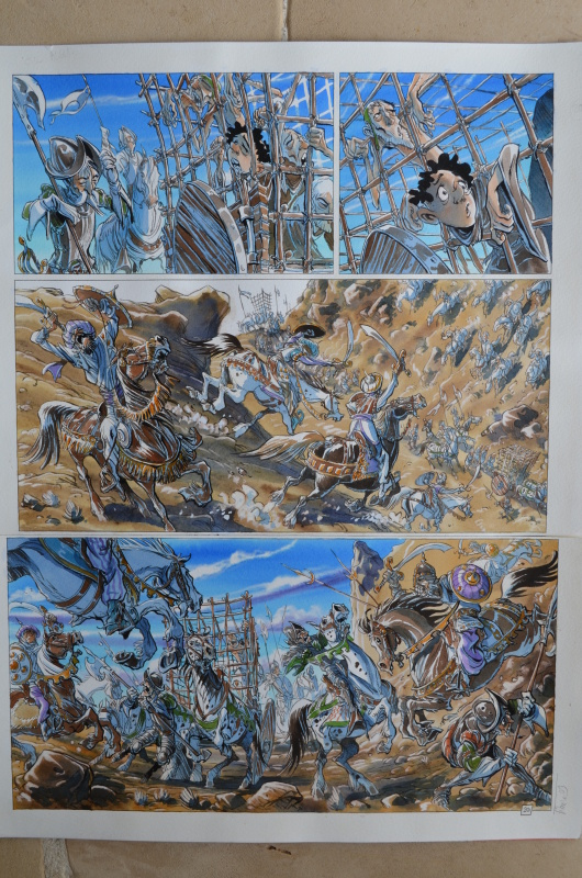 For sale - Planche La forêt tome 3 by Tiburce Oger, vincent perez - Comic Strip