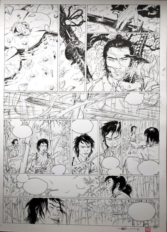 Samurai : 6. Shobei, p.36 by Frédéric Genêt - Comic Strip