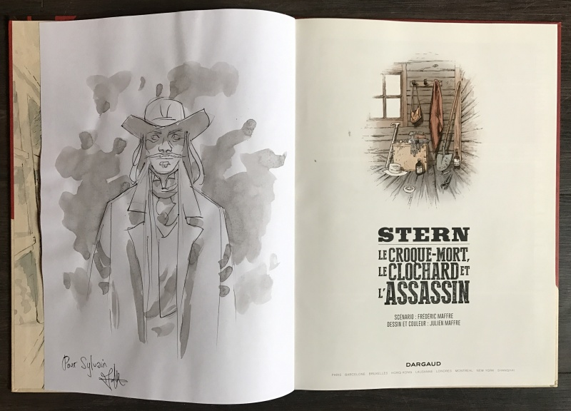 Stern by Julien Maffre - Sketch