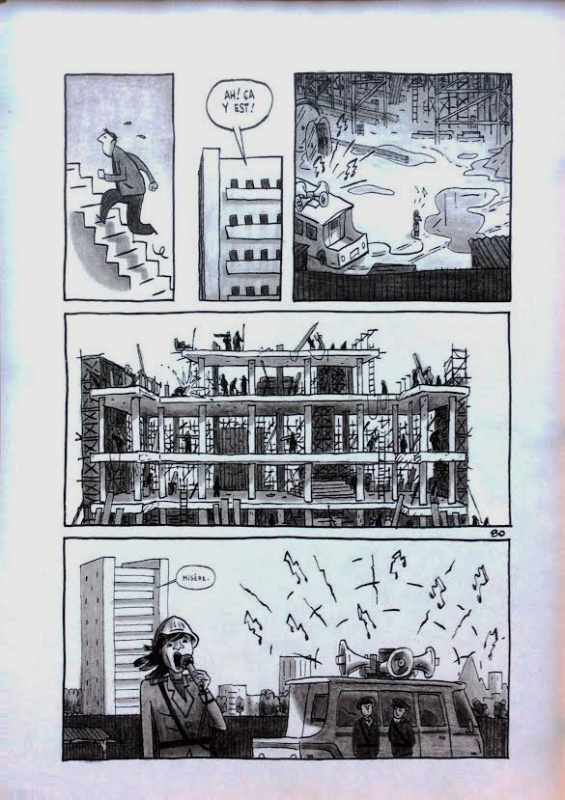Pyongyang by Guy Delisle - Comic Strip