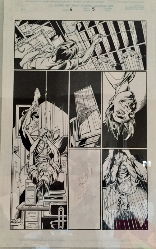 Ultimate Spider-Man issue 6 by Mark Bagley, Art Thibert - Comic Strip