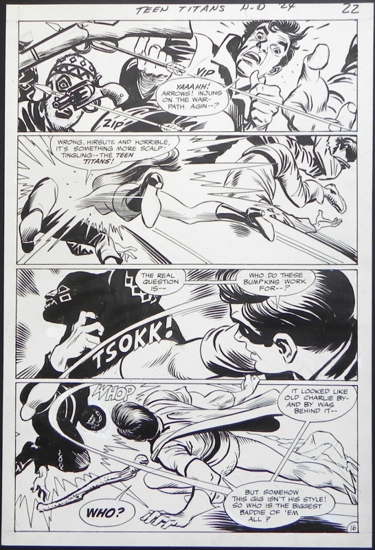 Teen titans #24 page 16 by Gil Kane, Nick Cardy - Comic Strip