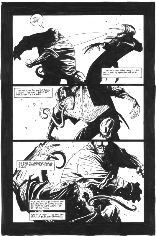 Hellboy Issue 2, page 14 by Mike Mignola - Comic Strip