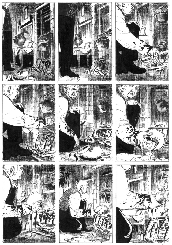 From Hell, Issue 10 page 6 by Alan Moore, Eddie Campbell - Comic Strip