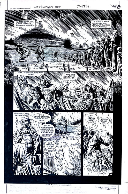 Camelot 3000 page by Brian Bolland, Terry Austin - Comic Strip