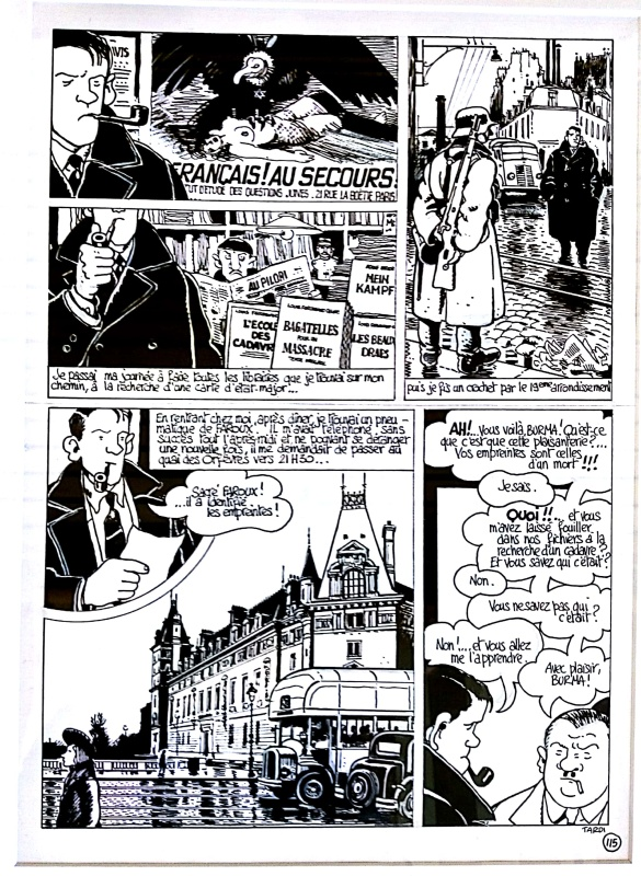 120, Rue de la Gare page 115 by Jacques Tardi - Comic Strip