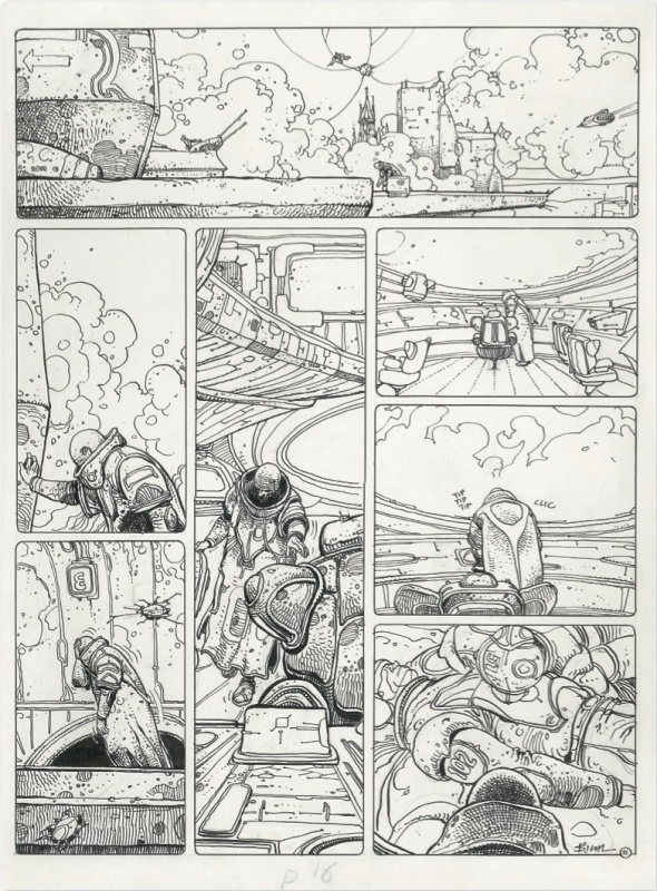 Exterminateur 17 planche 11 by Enki Bilal - Comic Strip