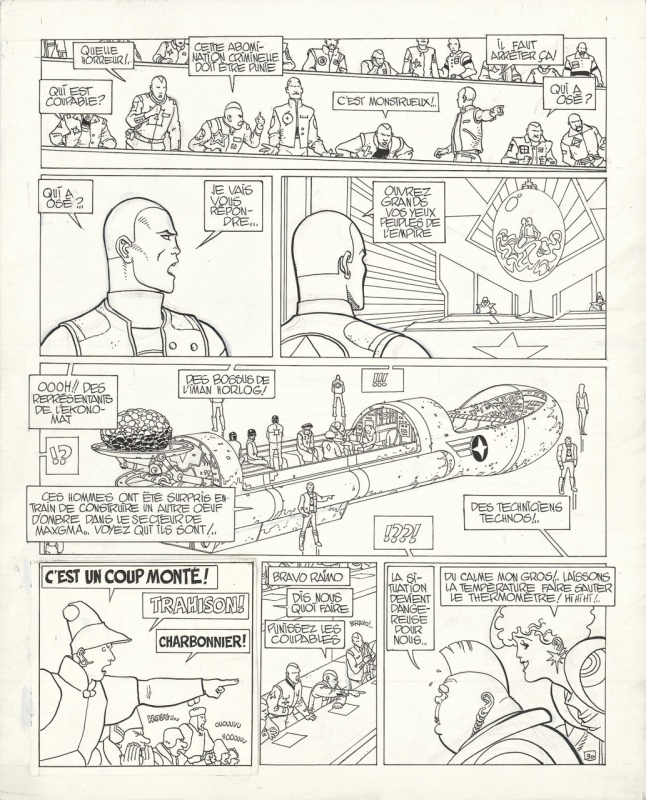 L'incal Tome 3 Planche 30 by Moebius - Comic Strip